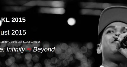 TEDx KL 2015 - Infinity & Beyond