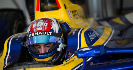 Sebastien Buemi will start from Julius Baer pole position