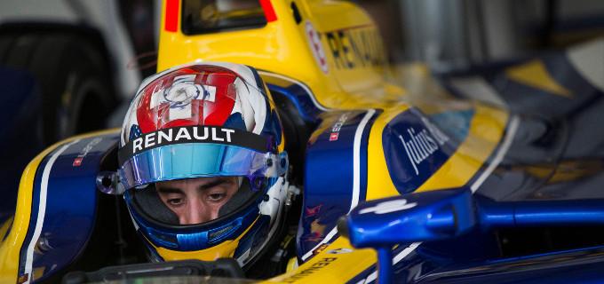 Sebastien Buemi will start from Julius Baer pole position