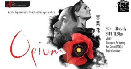 Hands Percussion presents Opium at the DPAC Arts Festival