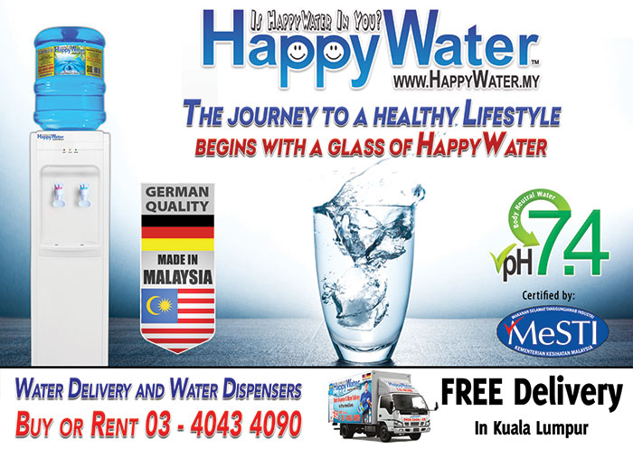 HappyWater Malaysia's Premium Water Supplier